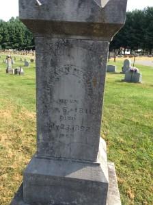 Ailesann Dyer McGuire's headstone
