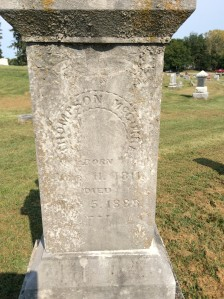Thompson McGuire headstone