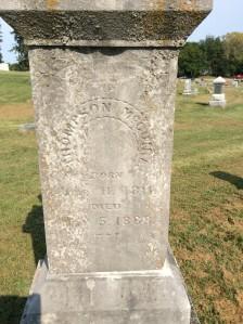 Thompson McGuire headstone
